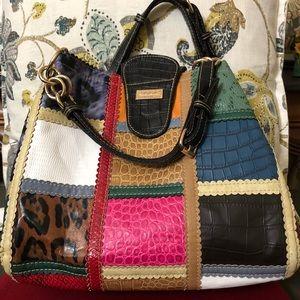 Handbags - Multi colored decorative handbag
